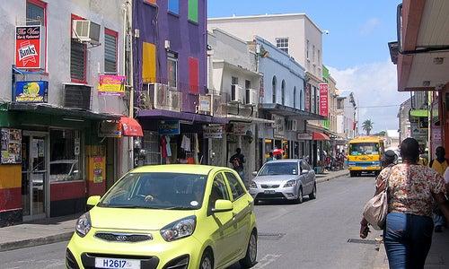 Barbados calles