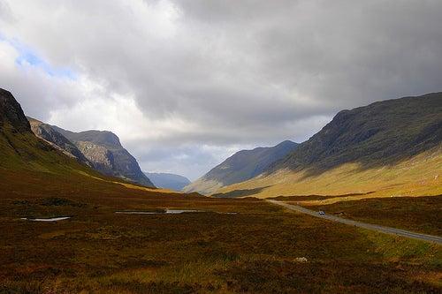 Escocia tierras altas highlands