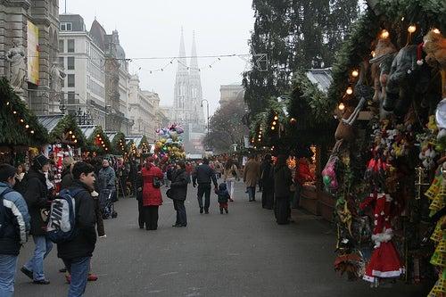 Destinos de europa para pasar navidad viena
